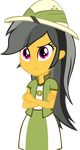 Equestria girls Daring Do by IamAquaMarine