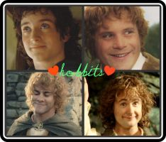 Hobbits collage by Wondercatgirl