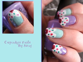 Cupcakes Nails by Toxic-Sway