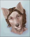 Dog. first commission by KetteMollari