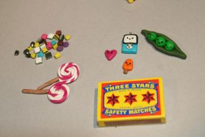 Random cute fimo stuff by MoritzNina