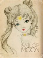 Sailor MOON by HigSousa