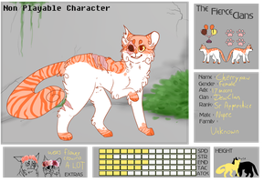 :Cherrypaw NPC App | The-Fierce-Clans: by MadiLoves