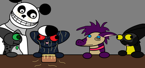 Grimm Noodle Party by freakness96