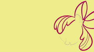 Minimalistic Apple Bloom Wallpaper by MrFugums