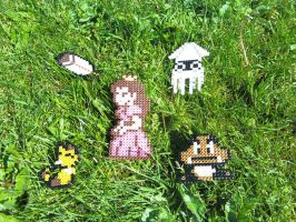 Perler Awesomeness by RaCHaeBBy