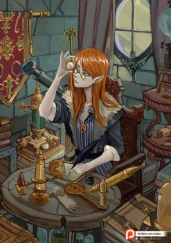 Glass Wizard by Hassly