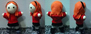 Amy Pond Plushie by snappop