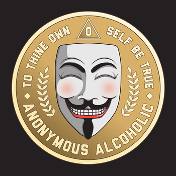Anonymous Alcoholic by GriftGFX