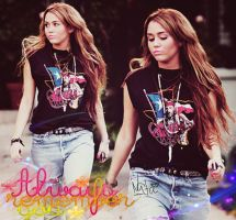 Miley Cyrus Blend 6 by nataschamyeditions