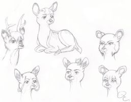 The Gaang Xover with Bambi by QuaterComet