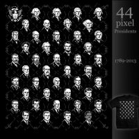44 Pixel Presidents by InfinityWave