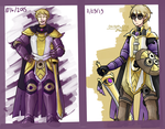 Gijinka design/art improvement thingy by Karin-Sawada