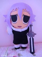 Soul Eater Crona Plushie with Sword by VioletLunchell