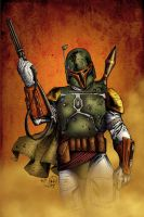 Boba Fett- BA Color Battle 02 by Casey-Bemis