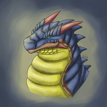 Napther Speedpaint by RimentusTheDragon