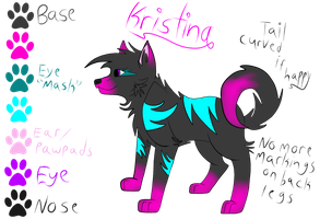 Kristina OFFICIAL REFERENCE SHEET (2012) by Krissi2197