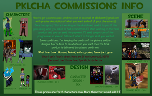 Commission OPEN (updated) by pklcha