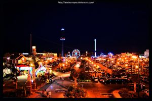 Kemah Lights by Andrea-Reyes