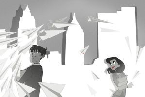 Paperman by Toxandreev