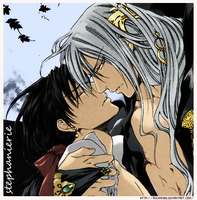 Hall and Val The Crimson Spell by Michiru83