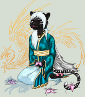 Kyeren: Meditation - Colored by SD-DreamCrystal