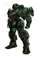 XM-216 Avatar-7 concept art by Dangerman-1973