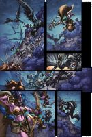 WoW Curse of the Worgen 2 pg11 by Tonywash