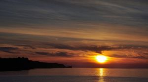 Ballycastle Sunset II by younghappy