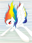 Super Rainbow Dash (Moon) by Narg007
