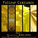 Yellow Textures Pack 2 by BFstock