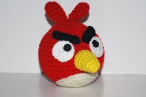 Angry Bird by craftyhanako