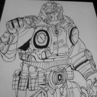 Gears of war 3 Carmine by samstowe