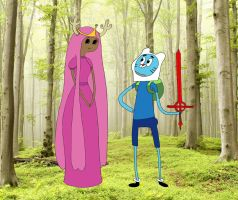 The Amazing World of Adventure Time by AsharaNi