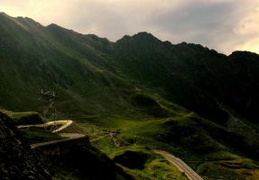 Transfagarasan road by lumixdmc850