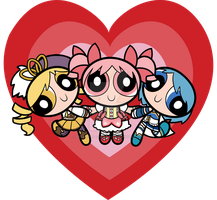 Puella Magi Girls by Decapitated-Kittens