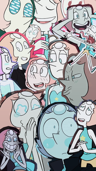 Pearl / Perla tumblr collage wallpaper by LauriAtweh
