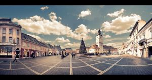 Old Brasov Panaroma by PortraitOfaLife