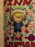 Chibi  from Adventure Time :3 by KIBBLK9