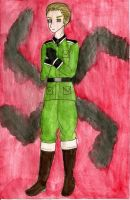 APH: Germany and Swastika by Demmi-chan
