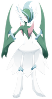 Pokemon - Mega Gallade by mmmegh