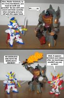 Zero teaching Grimlock by AleximusPrime