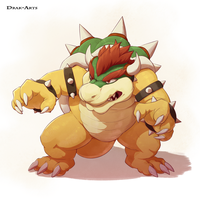 Bowser by Drak-Arts