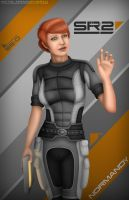 Yeoman Kelly Chambers by Mecha-Potato-Alex