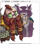 WIP - Blizzcon Badge Commission by Pavnix