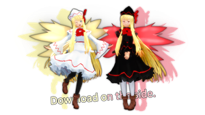 Lily White and Lily Black -Arlvit Style- [DL] by PachiPachy