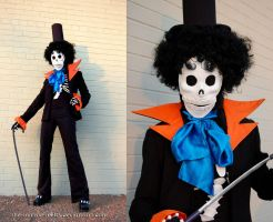 Brook One Piece cosplay by the-mirror-melts