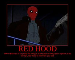 Red Hood Motivational by TopcowImage2dF
