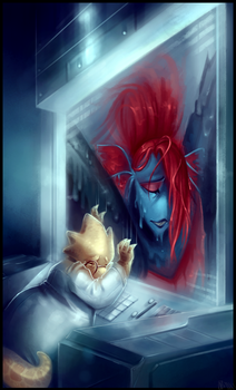 Farewell Undyne - Undertale Collab by WalkingMelonsAAA
