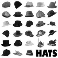 28 Hats PS Brushes Set 1 by Anavrin2010
